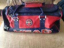30f49d58f3 HEAD Retro Monte Carlo Holdall Navy Gold Sports Travel for sale ...