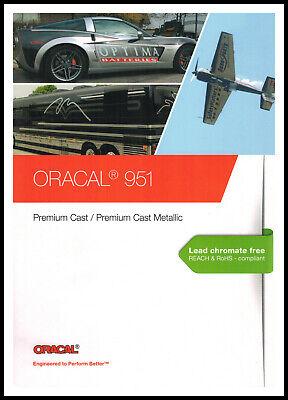 Oracal 951 Farbkarte - Mit Originalmuster - Orafol Plotterfolie