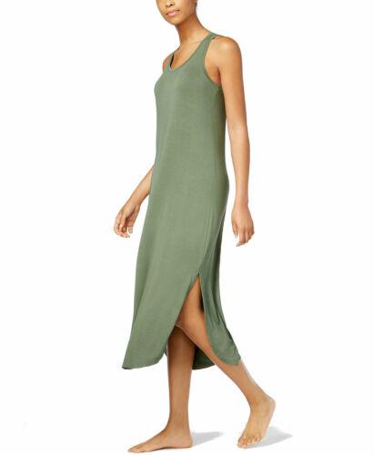 Large Alfani Calm Sage Sleeveless Scoopneck Nightgown