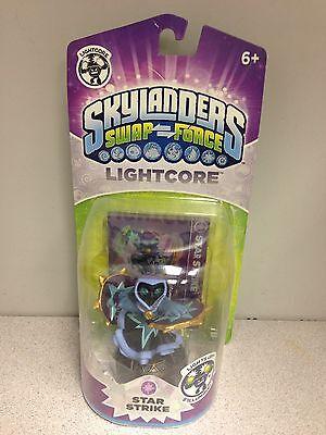 Skylanders Swap Force Star Strike Lightcore Character Figure and Trading Card