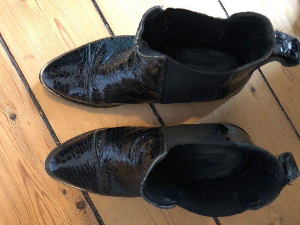 Støvletter, str. 37, Shoe Biz