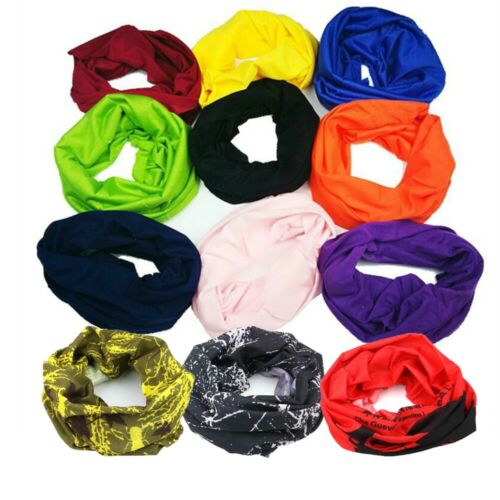 Hot Multi Magic Head Mask Snood Neck Tube Outdoor Sport Wrap Shawl Buff Scarf
