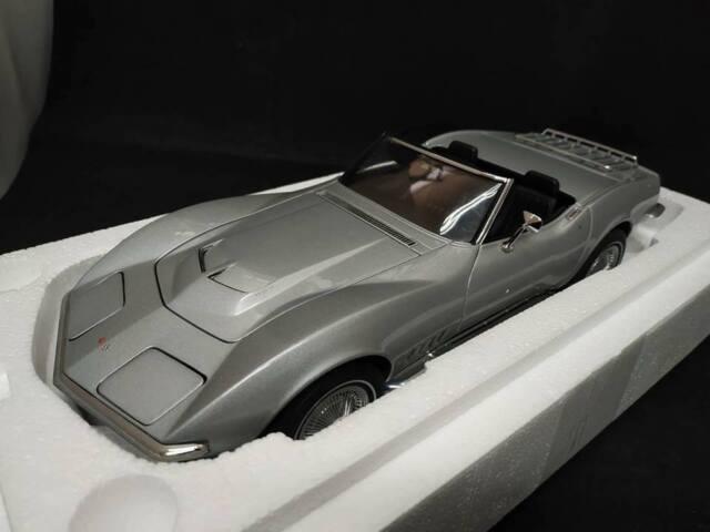 Autoart 71161 Chevrolet Corvette 1969 Daytona Yellow Limited Edition 6 000 Made Günstig Kaufen Ebay