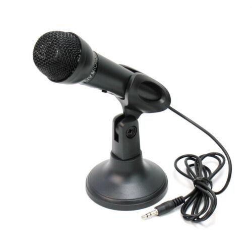 Stereo Mikrofon Mikrophon Microphone 3,5mm Klinkenstecker Mikrofonhalt MUE