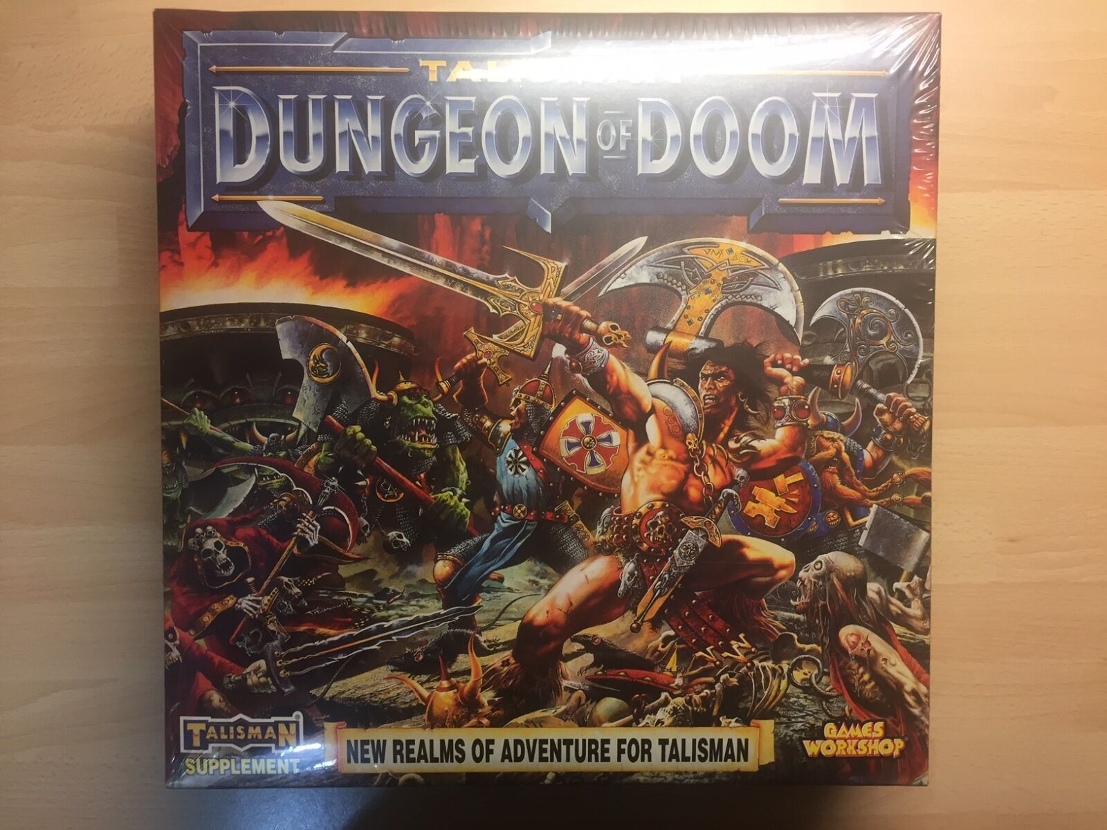 Games Workshop Talisman Dungeon of Doom BNIB New Sealed Supplement Perfect