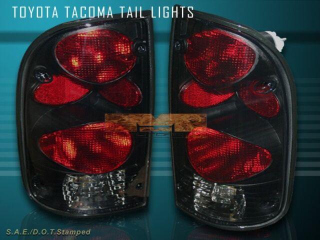 1995 1997 1998 1999 2000 TOYOTA TACOMA TAIL LIGHT BLACK
