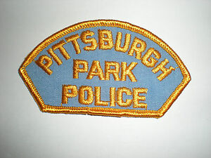 PITTSBURGH PARK POLICE PATCH