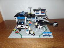 Vintage Legoland 6384 Lego City Police Station Complete