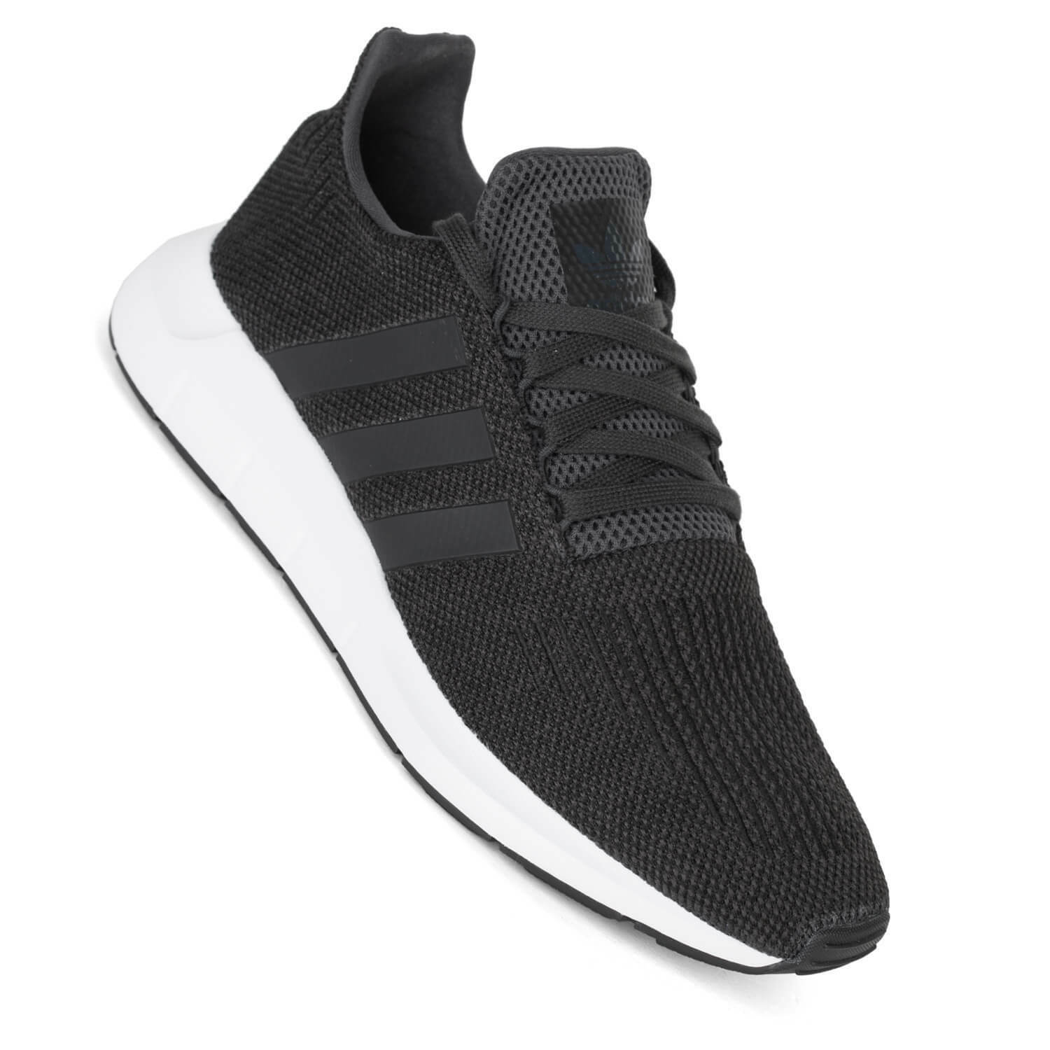 Adidas Swift Run carbon schwarz weiß Herren Sneaker CQ2114