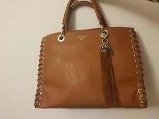 Guess woman s Brown Leather Hand Bag 2b94f783ac8