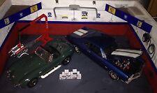 1/18 Scala Diorama GARAGE Hot Rod scatole con marchio di stile #SET 5