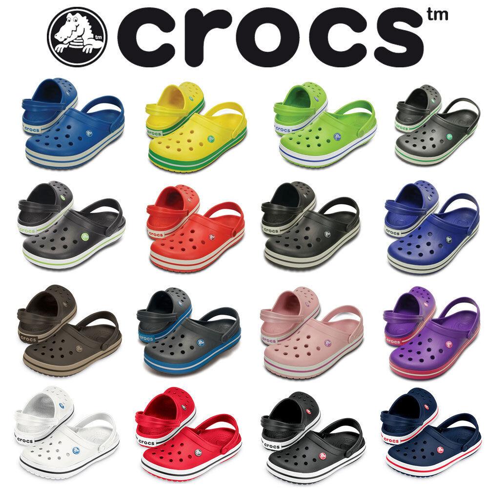 Crocs Crocband Sandals Shoes Clogs Unisex Men Women Comfortable Shoes Sandals Backstrap NEW ceb879