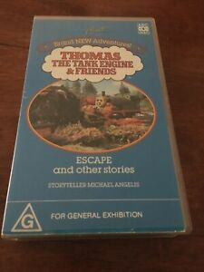 THOMAS-THE-TANK-ENGINE-amp-FRIENDS-ESCAPE-AND-OTHER-STORIES-ABC-VHS-VIDEO
