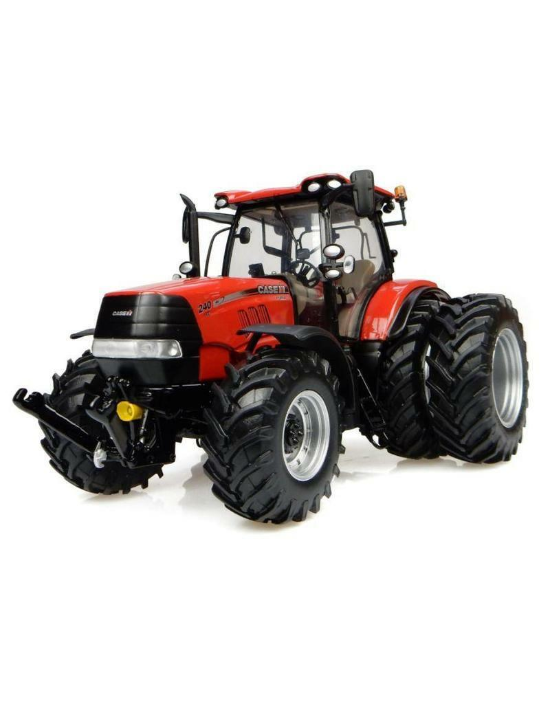 4933 Universal Hobbies Hobbies Hobbies CASE IH Puma CVX 240 dual wheels tractor BOXED 1 32 New 7e2821