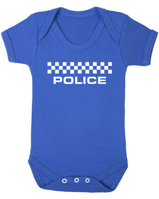 B-Shirts. Police Baby Vest Cool Christening Funky Newborn