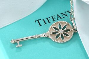 54ce2b995 Tiffany & Co Sterling Silver Diamond 1.5