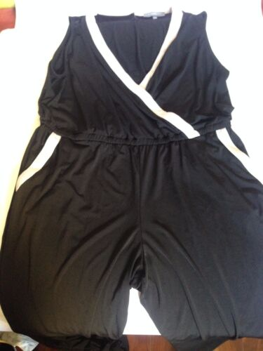 1x Women Size Tuta maniche Collection Rn senza da Nwt Ny 58719 Plus smoking vqpdfp