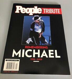 "Michael Jackson People "" Tribute Remembering Michael 1958-2009 "" 2009 Paperback"