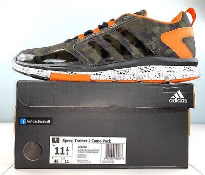 Men Size 11.5 adidas Speed Trainer 2 Camo Pack Baseball Training Shoes D70240 | eBay