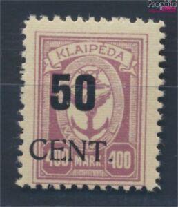 Memelgebiet-199-postfrisch-1923-Aushilfsausgabe-8731665