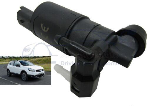 Front /& Rear Windscreen Washer Pump Fits Nissan Qashqai 2007 /> 2013