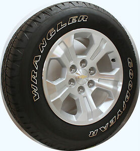 new take off 2016 chevy z71 silverado suburban 18 inch wheels rims owl tires ebay. Black Bedroom Furniture Sets. Home Design Ideas