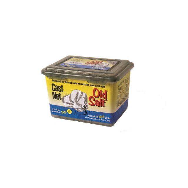 Betts Old Salt Cast Net 6ft Mono 3/8in Mesh Box
