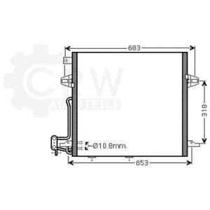 Kondensator-Klimaanlage-Klimakondensator-Mercedes-Benz-M-Klasse-GL-Klasse-W164