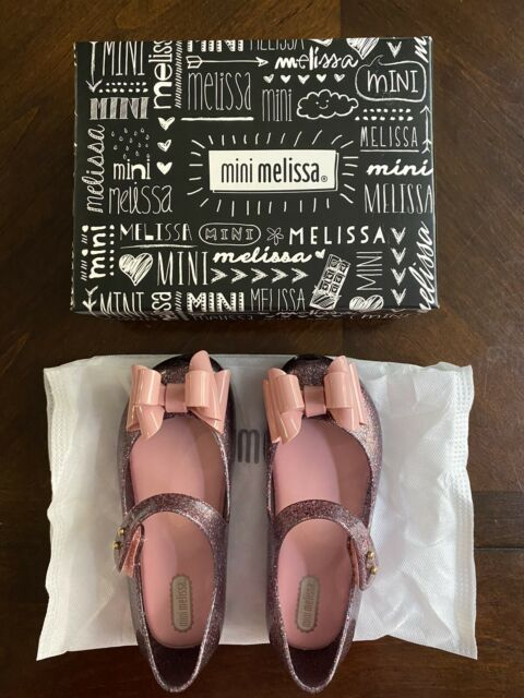 Mini Melissa Size 7 Tan Bunny Shoes