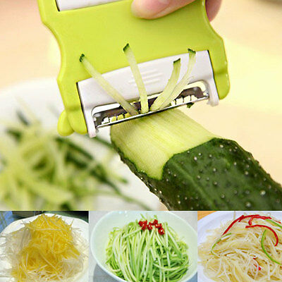 Portable Vegetable Potato Carrot Fruit Twister Cutter Slicer Peeler Kitchen Tool