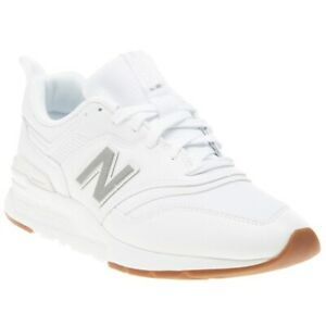 Details about New MENS NEW BALANCE WHITE 997 LEATHER Sneakers CHUNKY SNEAKERS