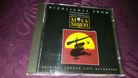 CD Highlights from Miss Saigon - Album 1988