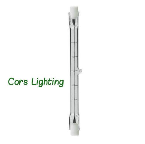 10 Pack 500 Watt T3 118mm R7S Type-J Quartz Halogen Light Bulbs