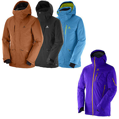 Salomon Quest Motion Snow Men's Ski Jacket Snowboardjacke Winter Jacket NEW | eBay