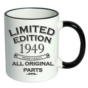 70th-Birthday-Novelty-Cup-Mug-Coffee-Tea-Limited-Edition-1949-All-Original-Parts