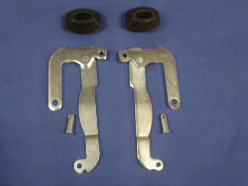 MG PAIR NEW MGB ROADSTER  GT OR V8 HANDBRAKE LEVERS , BOOTS & CLEVICE PINS eb47