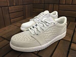 3eb889a58ad 2017 Nike Air Jordan 1 Retro Low NS SZ 10 Off White Swoosh less ...
