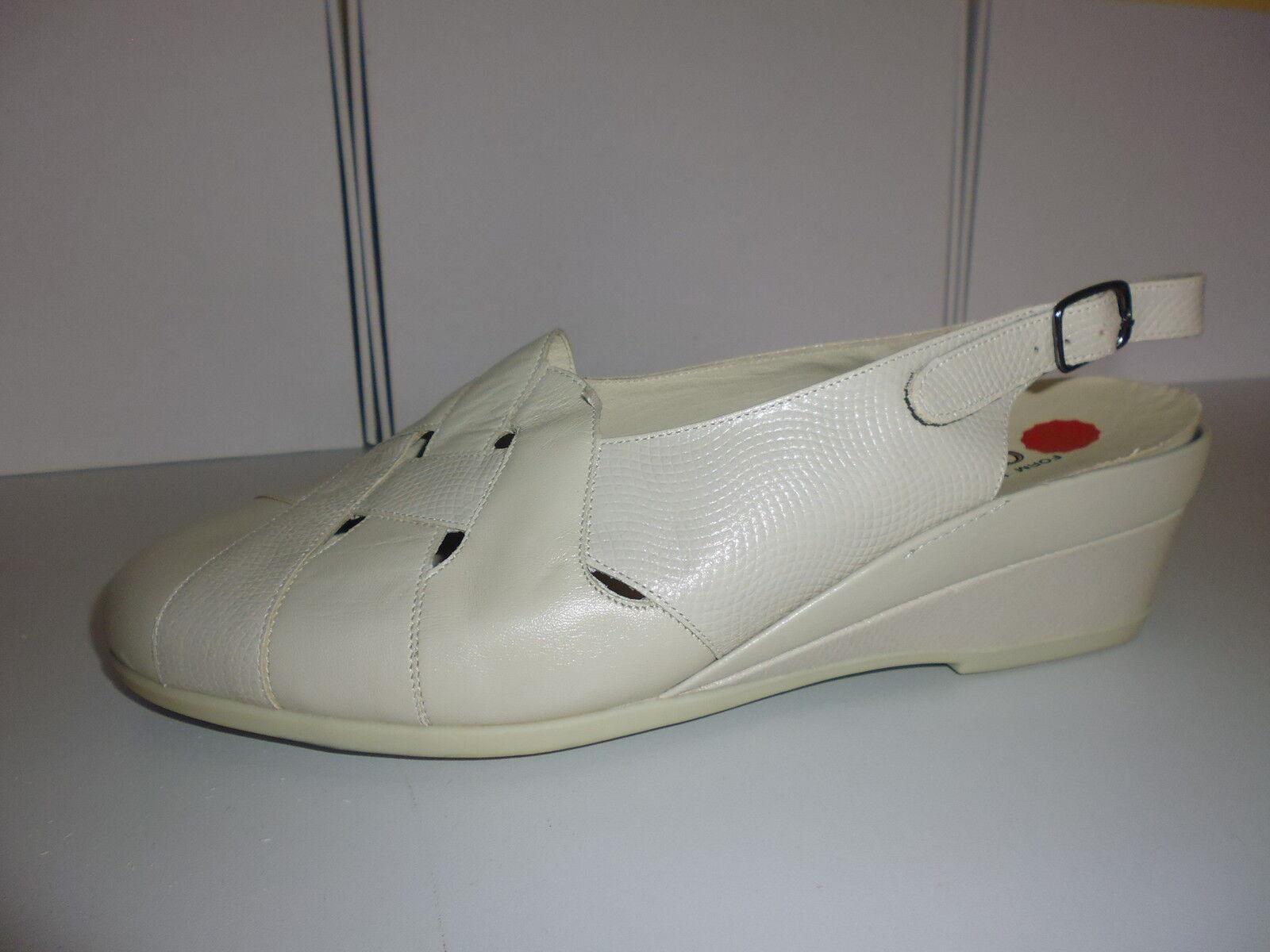 542 Goldkrone 8 Sandalette Leder Sandalen 5Wk Sling GrSchuhe SqMVUzp