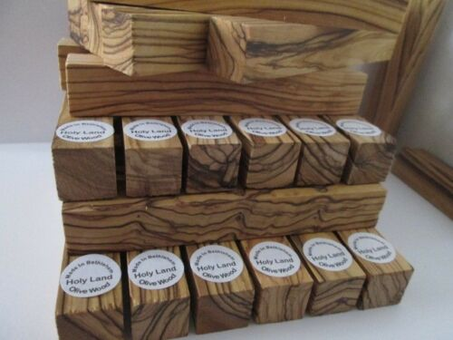 10 Bethlehem Holyland VERY BEAUTIFUL Olive Wood Pen Turning Blanks.