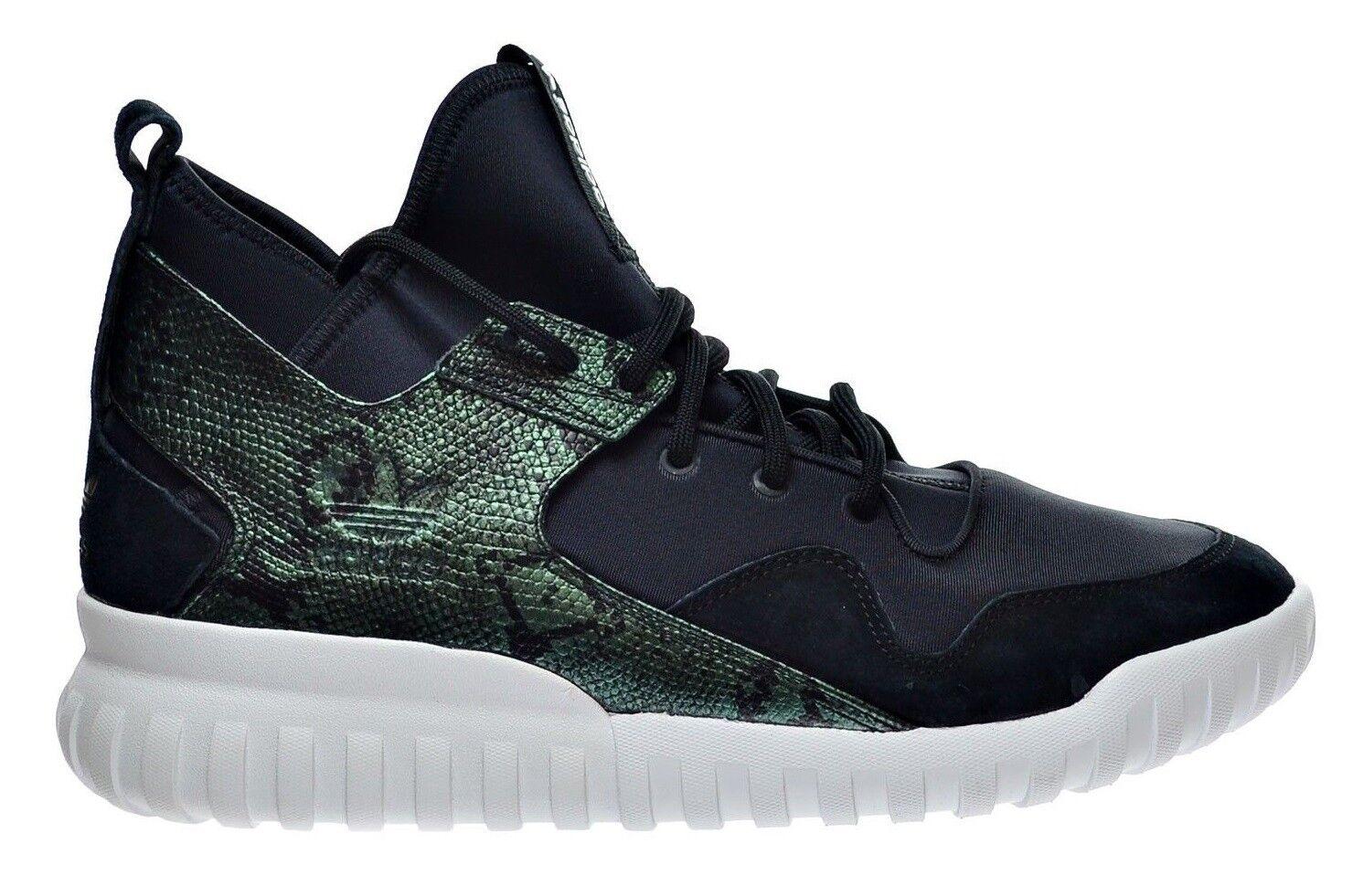 Adidas originali tubulare x mens mens mens scarpe s31988 nero - verde in pelle di serpente | Autentico  c6c0c5