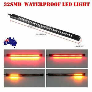LED-Bar-Brake-Tail-Light-Left-Right-Turn-Signal-indicator-harley-dyna-custom-FXS