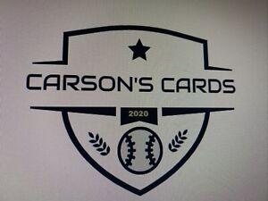 MLB Baseball Mystery Repack 20 Cards, Robert, Bichette, Lux Read Descrip