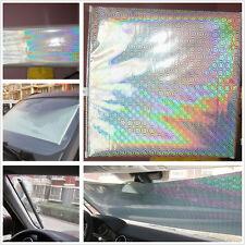 Silver Retractable Car Windscreen Sun Shade Heat Insulation Curtain For Holden