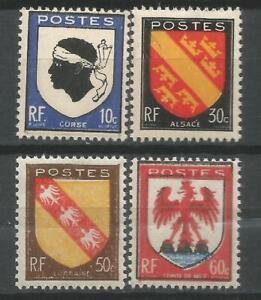 Serie-n-755-a-758-neufs-Luxe-MNH-1946