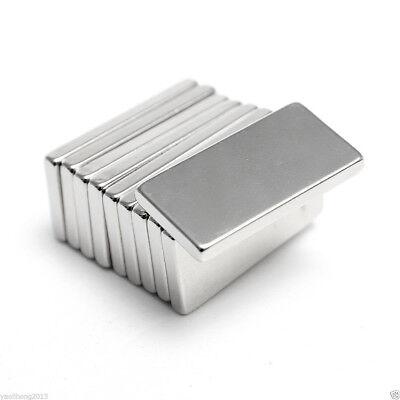 Magneten Büro & Schreibwaren Neodym Magnet Super Magnet Stark Hohe Haftkraft 20mm X 10mm X 2mm Entlastung Von Hitze Und Sonnenstich