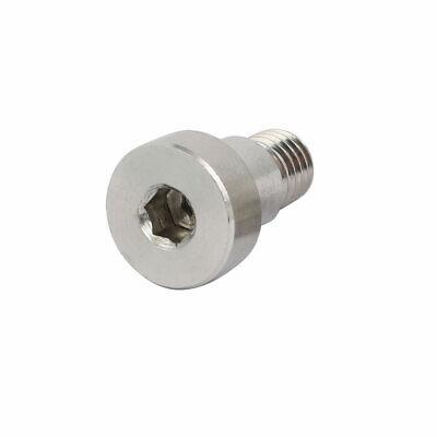 uxcell 10pcs 304 Stainless Steel Hex Socket Shoulder Bolt 8mm Shoulder Dia 10mm Shoulder Length M6 Thread