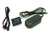 Ac Adapter + Dc Coupler For Fuji Fujifilm X-t1 Digital Camera