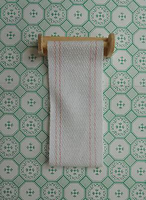 Affidabile Casa Delle Bambole Miniatura Roller Asciugamano In Scala 1/12-mostra Il Titolo Originale
