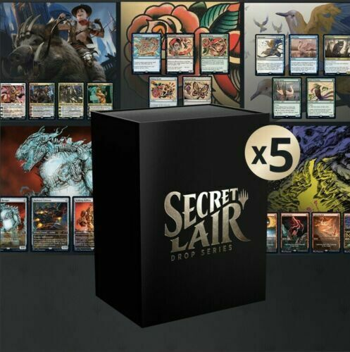 MtG Arena Secret Lair Summer Superdrop Bundle for Arena Sleeves