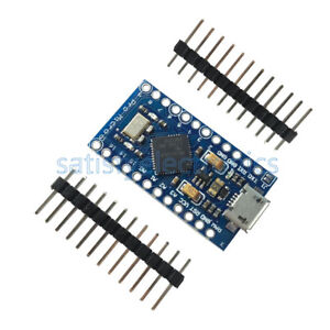 1//2//5//10PCS Leonardo Pro Micro 3.3V ATmega32U4 Replace ATmega328 For Arduino